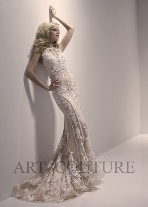Wedding Dress  Art Couture 456 (Front)