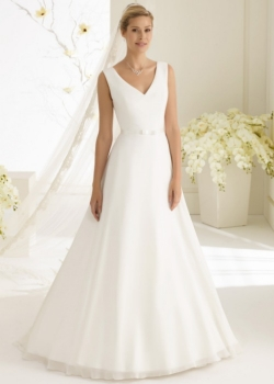 Blanco Dalila wedding dress Sapphire Dresses